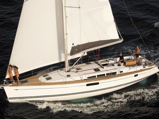 Enjoy luxury and comfort on this Athens sailboat charter