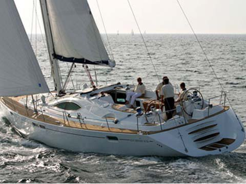 All you need to do is relax and have fun aboard the Jeanneau Sun Odyssey 54DS