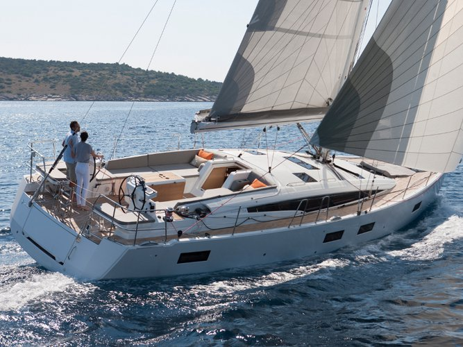 Enjoy Lavrion, GR to the fullest on our comfortable Jeanneau Jeanneau 54