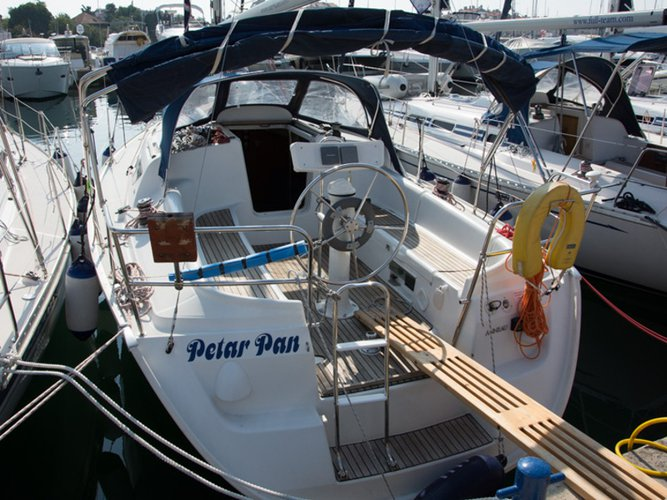 Get on the water and enjoy Biograd in style on our Jeanneau Sun Odyssey 32