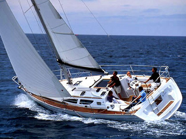 Sail Athens, GR waters on a beautiful Jeanneau Sun Odyssey 35
