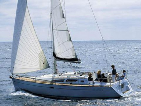 Rent this Jeanneau Sun Odyssey 35 for a true nautical adventure