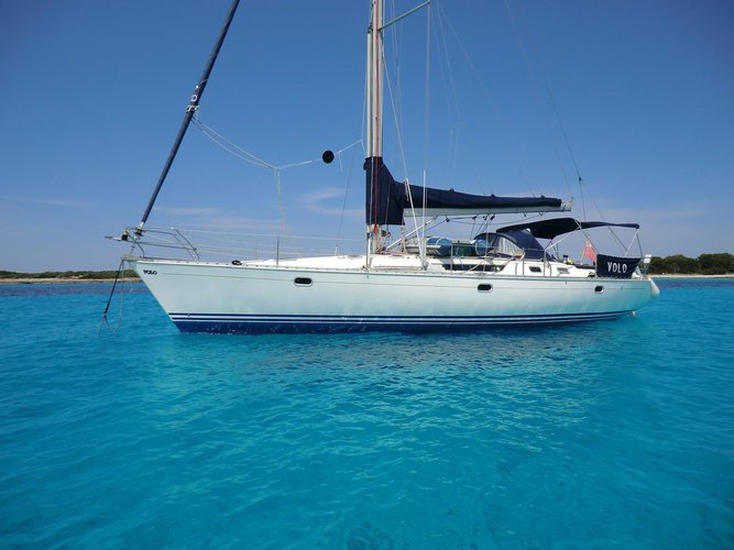 Enjoy luxury and comfort on this Jeanneau Sun Odyssey 35 in Corfu