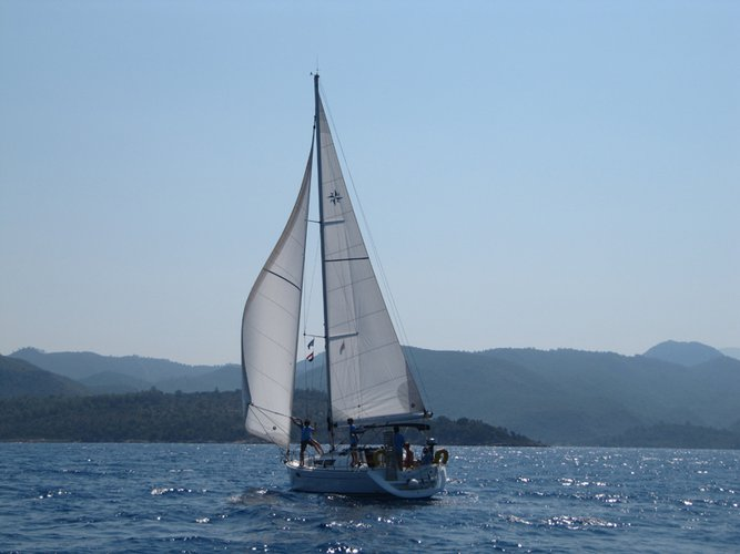 Experience Fethiye on board this elegant sailboat