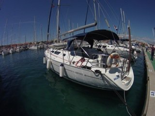 Sail Vodice, HR waters on a beautiful Jeanneau Sun Odyssey 40