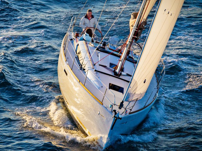 Rent this Jeanneau Sun Odyssey 389 for a true nautical adventure