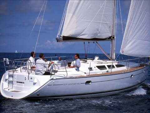 Climb aboard this Jeanneau Sun Odyssey 40.3 for an unforgettable experience