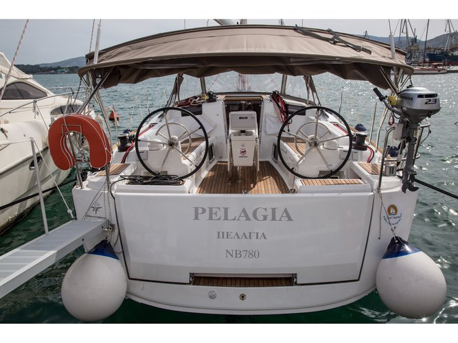 Experience Volos on board this elegant sailboat