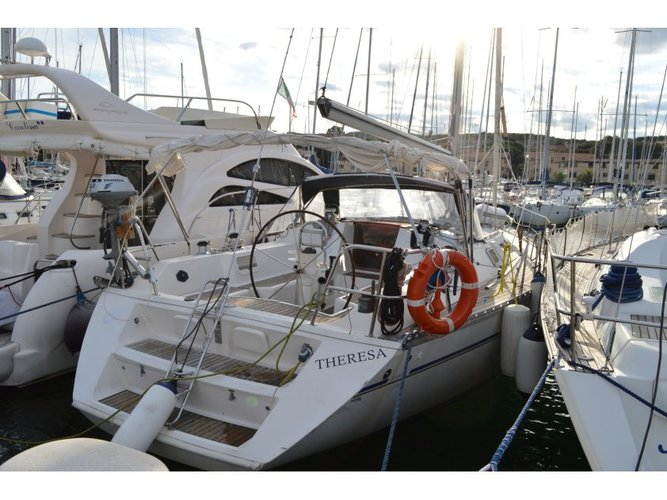 Rent this Jeanneau Sun Odyssey 42 for a true nautical adventure