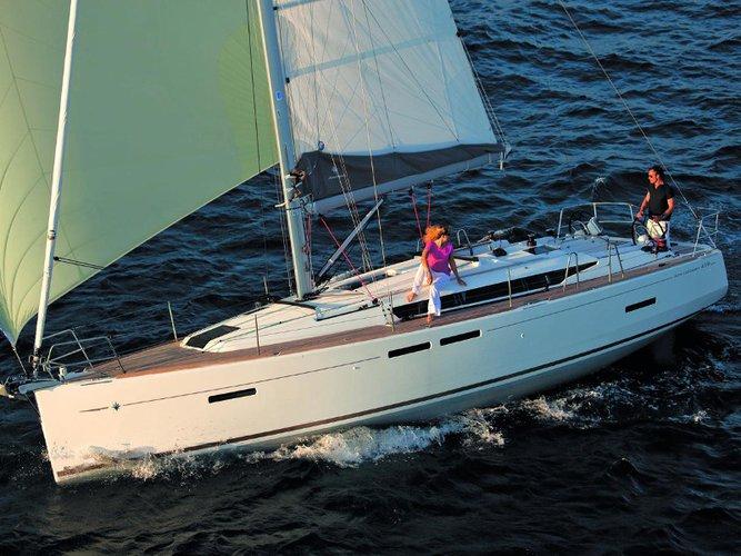 Charter this amazing Jeanneau Sun Odyssey 419 in Corfu, GR