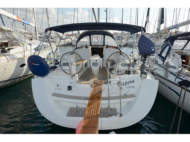 Experience Šibenik, HR on board this amazing Jeanneau Sun Odyssey 42i