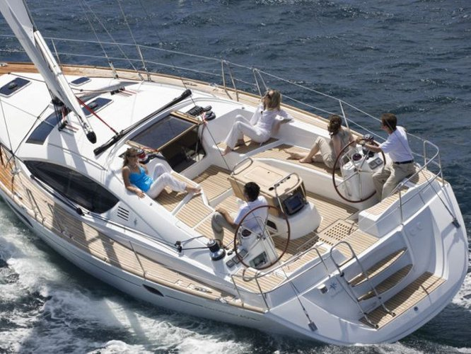 Experience Puntone - Follonica on board this elegant sailboat