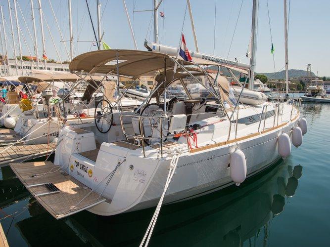 Explore Šibenik on this beautiful sailboat for rent