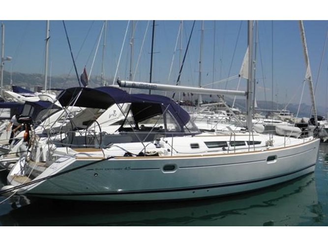 Enjoy Rijeka, HR to the fullest on our comfortable Jeanneau Sun Odyssey 45