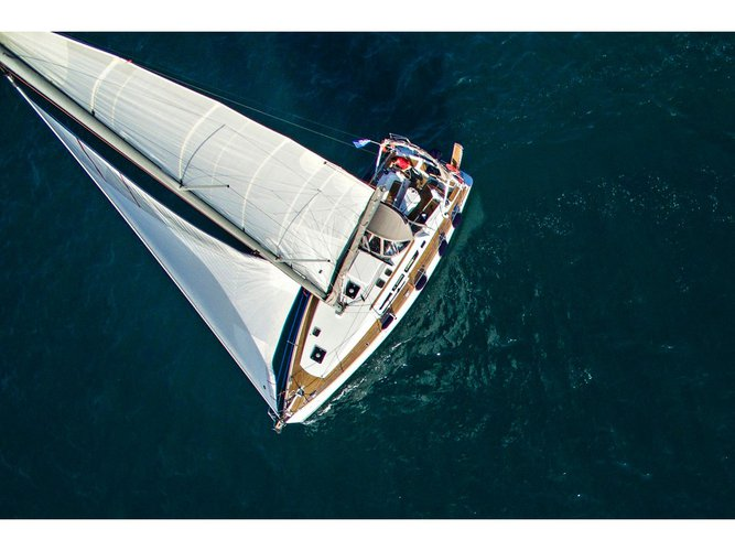 Experience Volos, GR on board this amazing Jeanneau Sun Odyssey 44i (2009)