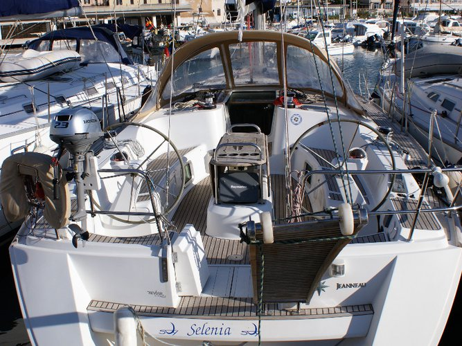 Discover San Vincenzo in style boating on this sailboat rental