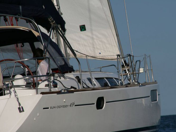 Climb aboard this Jeanneau Sun Odyssey 49i for an unforgettable experience
