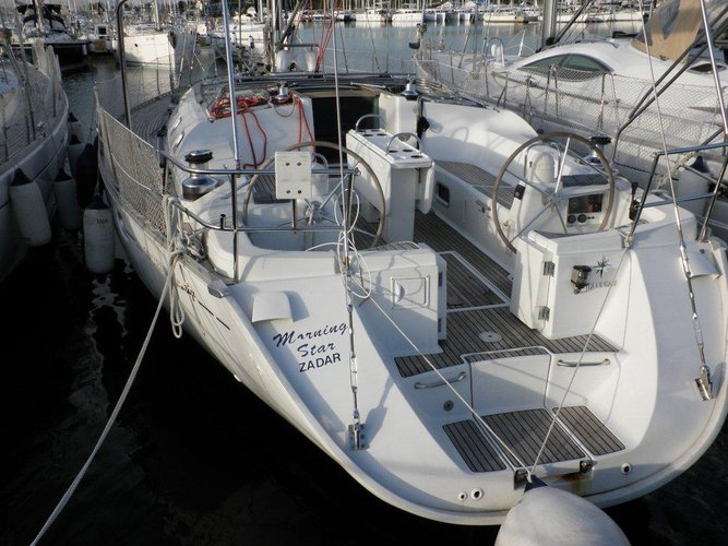 Rent this Jeanneau Sun Odyssey 52.2 Vintage for a true nautical adventure