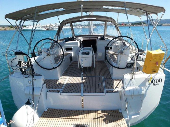 Charter this amazing Jeanneau Sun Odyssey 509 Owner in Sukošan, HR