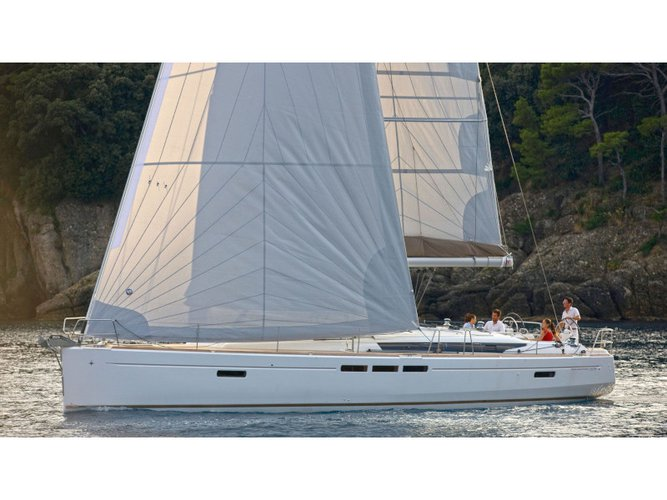 Explore Rogoznica on this beautiful sailboat for rent
