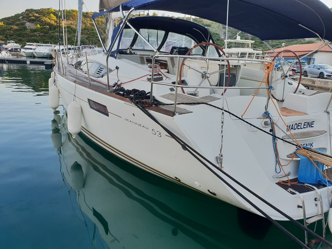 Rent this Jeanneau Jeanneau 53 (5cab) for a true nautical adventure