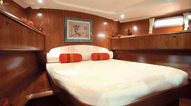 Discover Mumbai surroundings on this Grand 54 Jenneau boat