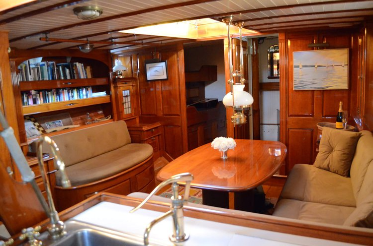 Schooner boat for rent in Sag Harbor