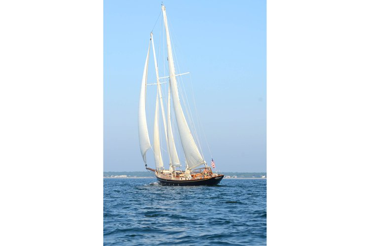 Schooner boat rental in Sag Harbor  (Marina across from Baron's Cove Motel), NY