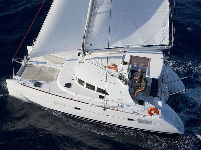 Rent this Lagoon Lagoon 380 S2 for a true nautical adventure