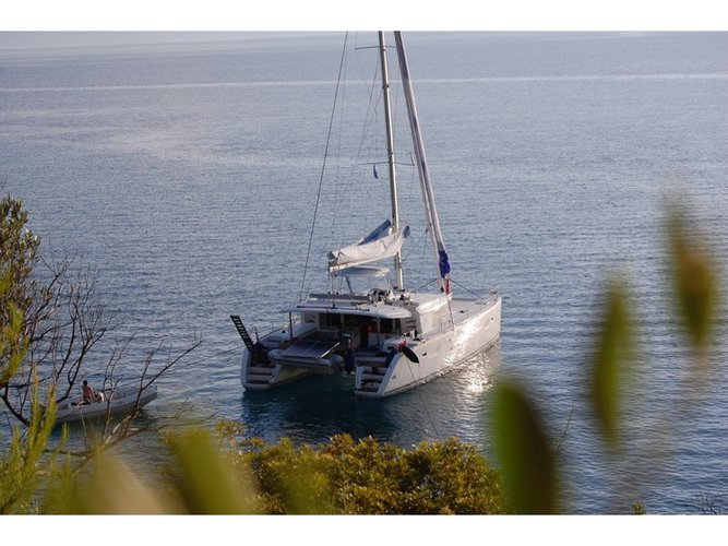Enjoy Lefkada, GR to the fullest on our comfortable Lagoon Lagoon 450