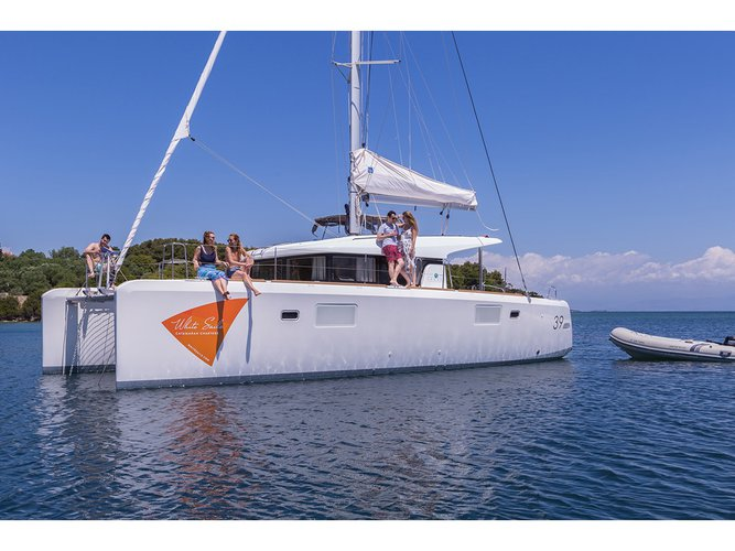 Enjoy Preveza, GR to the fullest on our comfortable Lagoon Lagoon 39