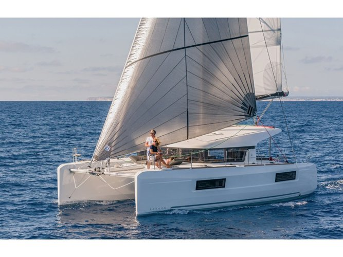 Explore Trogir on this beautiful sailboat for rent