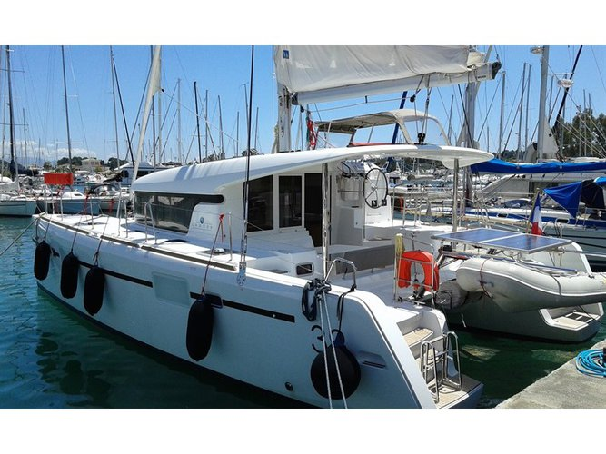 Rent this Lagoon Lagoon 39 for a true nautical adventure