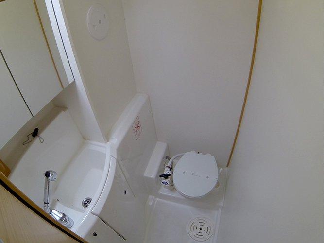 Lagoon 400 Bathroom