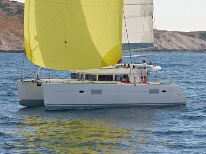 Experience Šibenik, HR on board this amazing Lagoon Lagoon 400