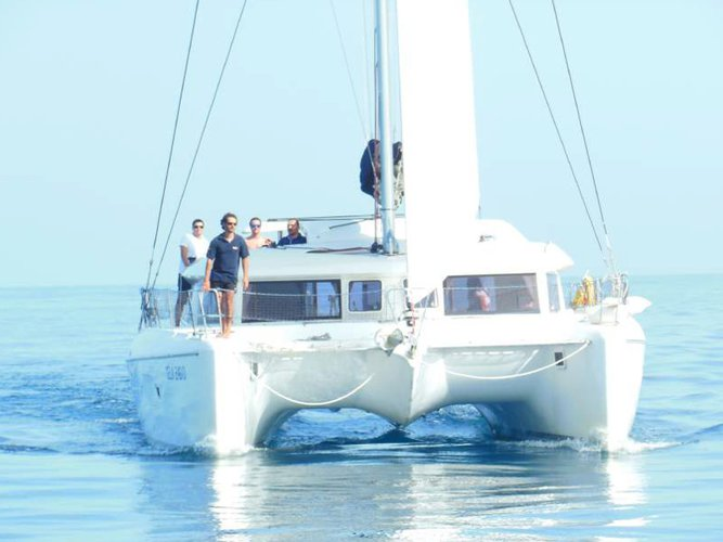 Experience Milazzo, IT on board this amazing Lagoon Lagoon 421