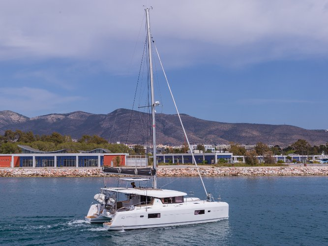 Explore Athens-Hellinikon on this beautiful sailboat for rent