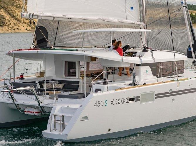 Experience Saint Martin, MF on board this amazing Lagoon Lagoon 450 SporTop