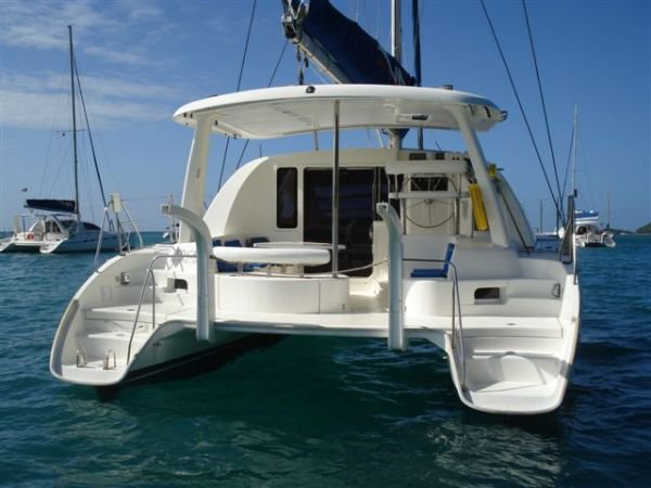 Experience Tahiti views aboard this luxurious Leopard 384
