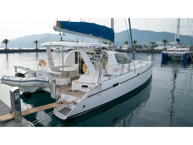 Hop aboard this amazing sailboat rental in Tivat!