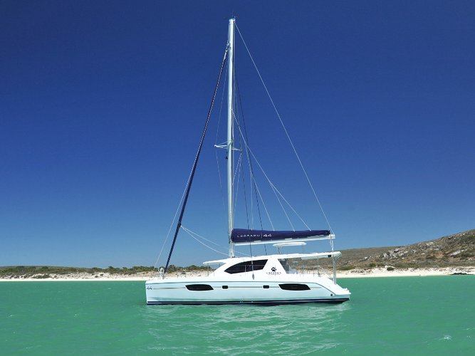 Take this Leopard Catamarans Leopard 44 for a spin!