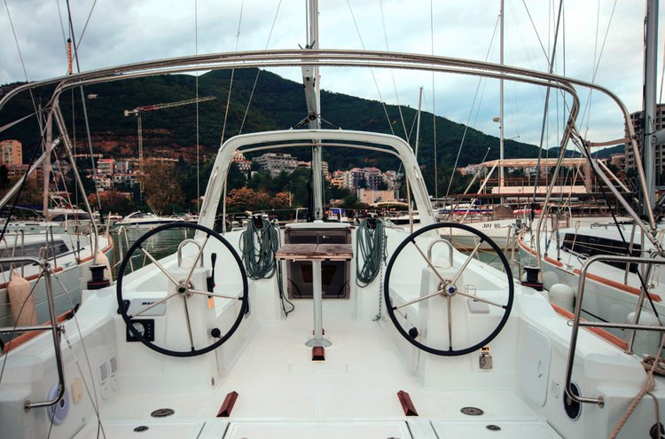Hop aboard this amazing sail boat rental in Montenegro