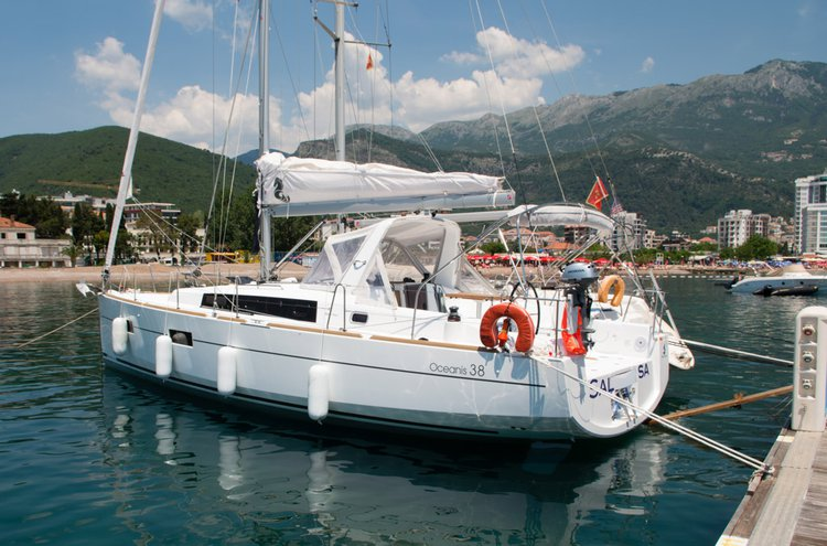 Experience Tivat on board this elegant sail boat