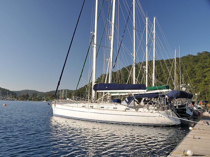 Beautiful Poncin Yachts Harmony 52 ideal for sailing and fun in the sun!