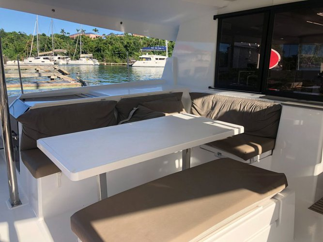 Catamaran boat for rent in Tortola