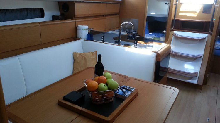 Discover Tivat surroundings on this 409 Sun Odyssey boat