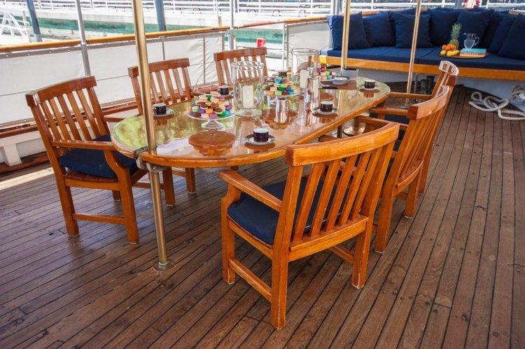 Motor yacht boat for rent in Sag Harbor