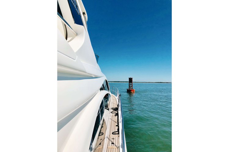 Motor yacht boat rental in Sag Harbor  (Marina across from Baron's Cove Motel), NY