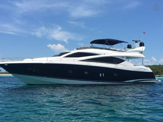 Take a spin in New York aboard Sunseeker 75