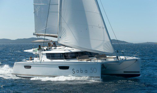 Fountaine Pajot's 51.0 feet in Red Hook